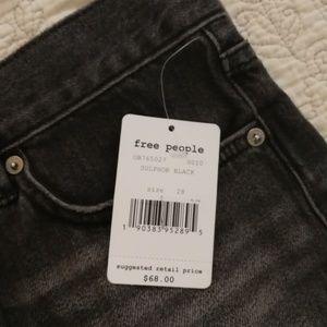Free People Shorts - 2 Pairs Free People Good Loving Vibrations cutoffs